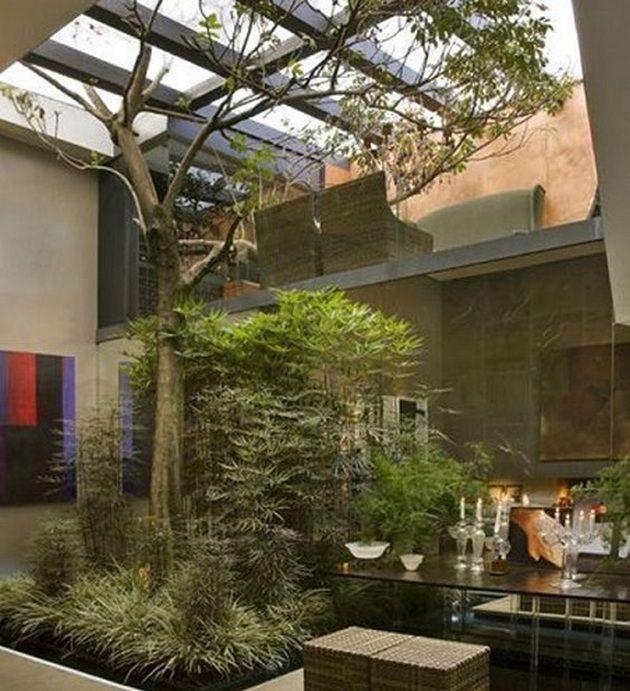 Atrium House Ideas Modern_52 | Jirat space | Pinterest | Modern ...