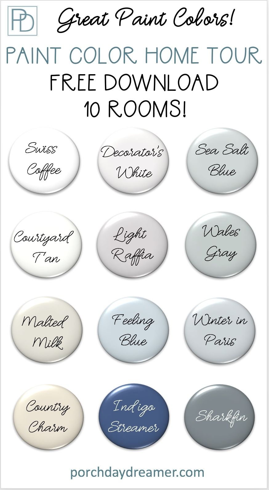 Photo of Great Paint Colors!