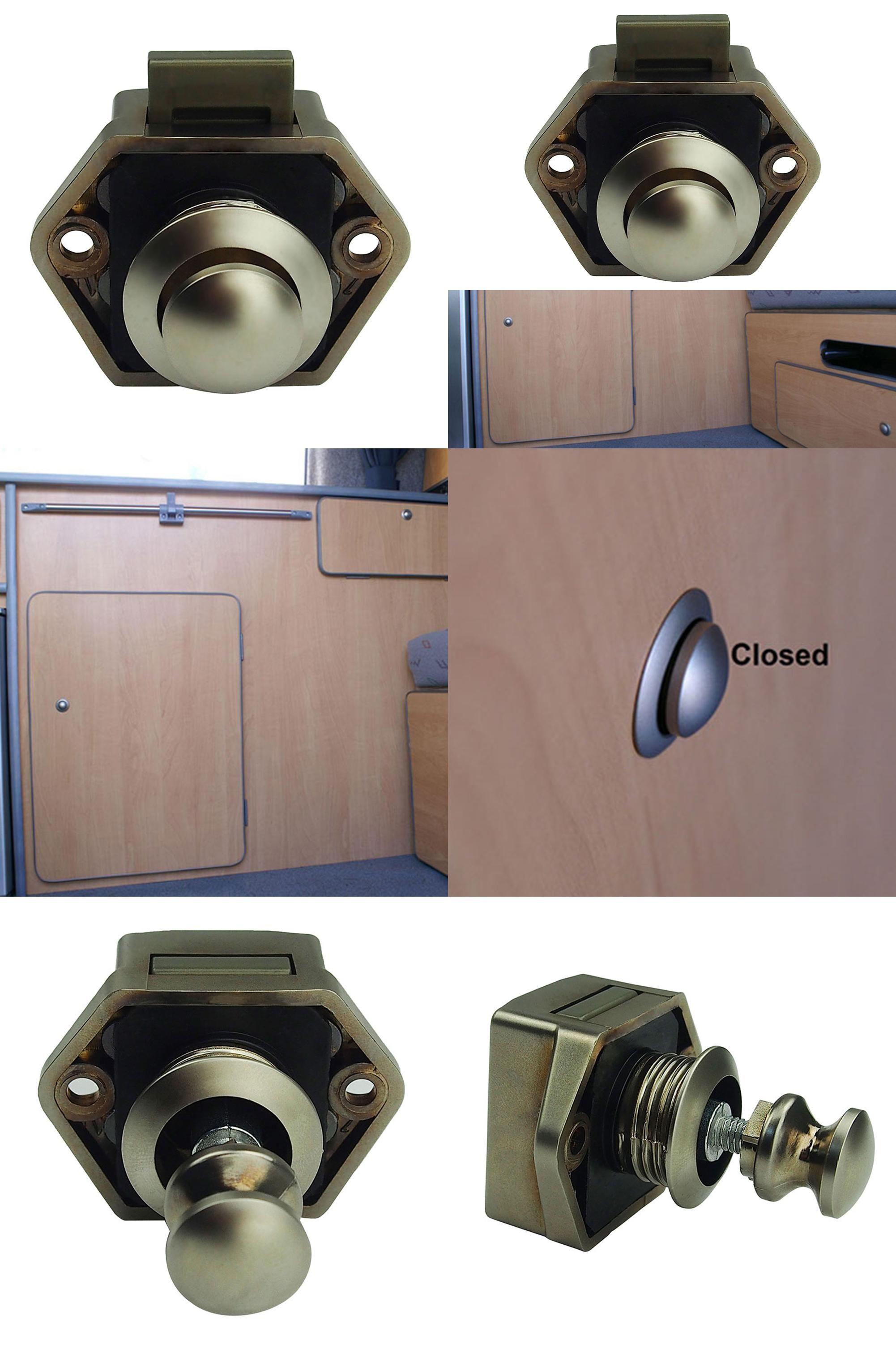 Visit to Buy] Push Lock Button 20mm Cupboard Door Knob RV Camper Car