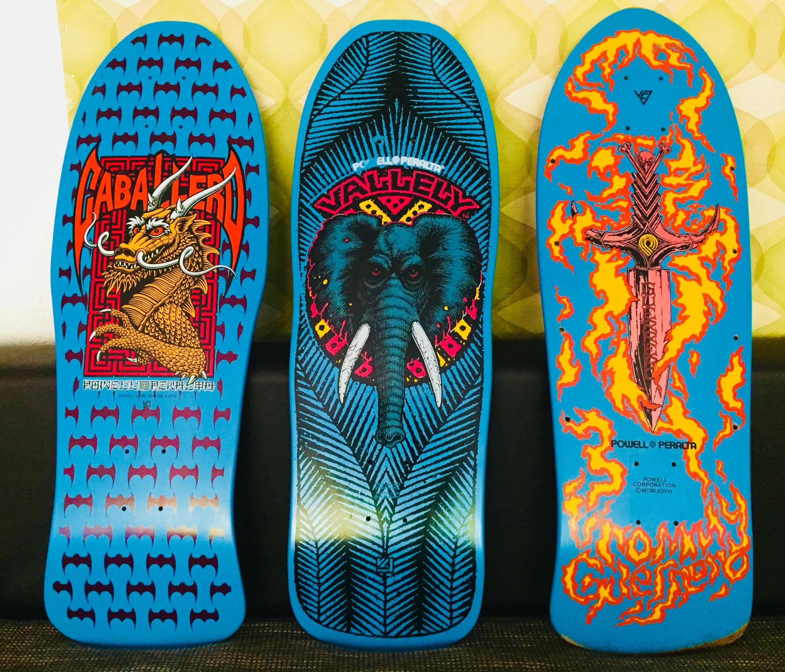 Powell Trio Classic Skateboard Skateboard Design Custom Skateboards