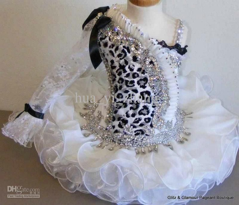 Glitz pageant dresses cupcake style
