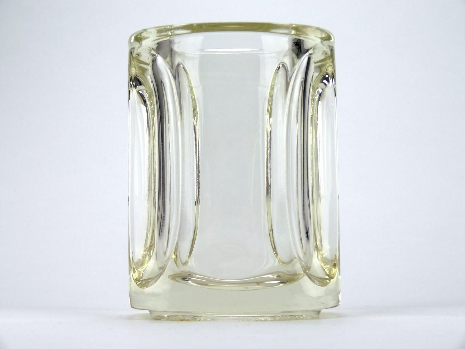 glass pasabahce clear shape rounded straight flora fluted itm flower ebay vases vase wedding