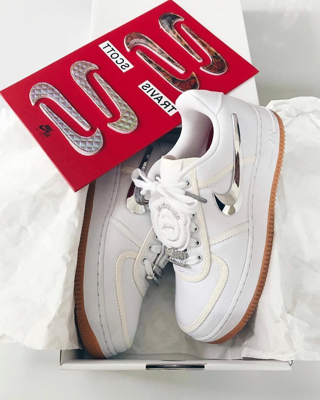 Nike Air Force 1 Travis Scott Mens Shoes Size 10 AQ4211 101