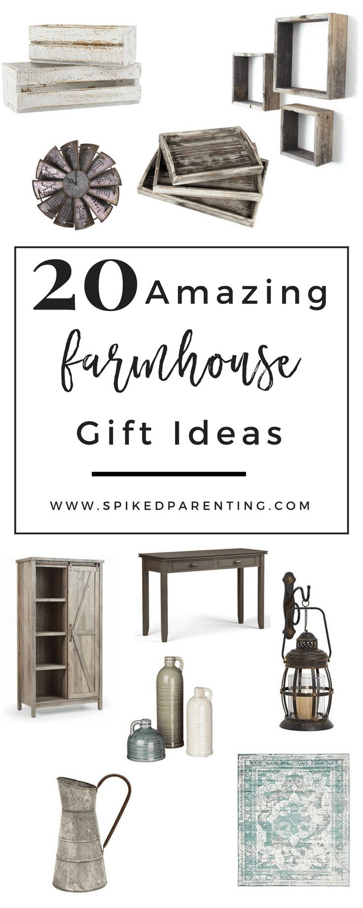 20 Amazing Farmhouse Decor Gift Ideas | Gift, Organisations and ...