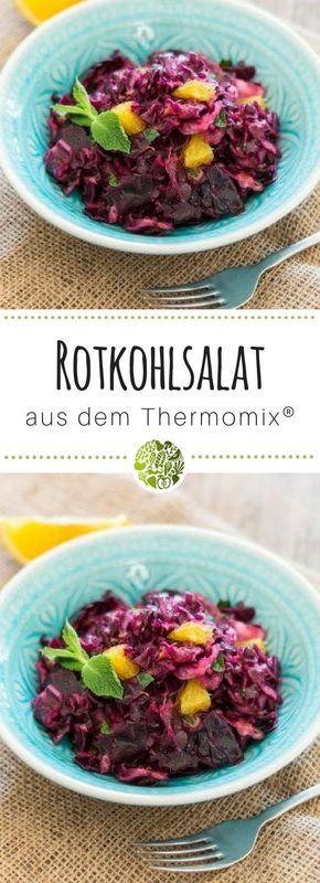 Rotkohl-Rohkostsalat aus dem Thermomix® - will-mixen.de
