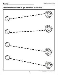 Tracing Angled Lines Preschool Basic Skills Fine Motor Pre Writing Activities Preschool Fine Motor Activities Preschool tracing and cutting worksheets
