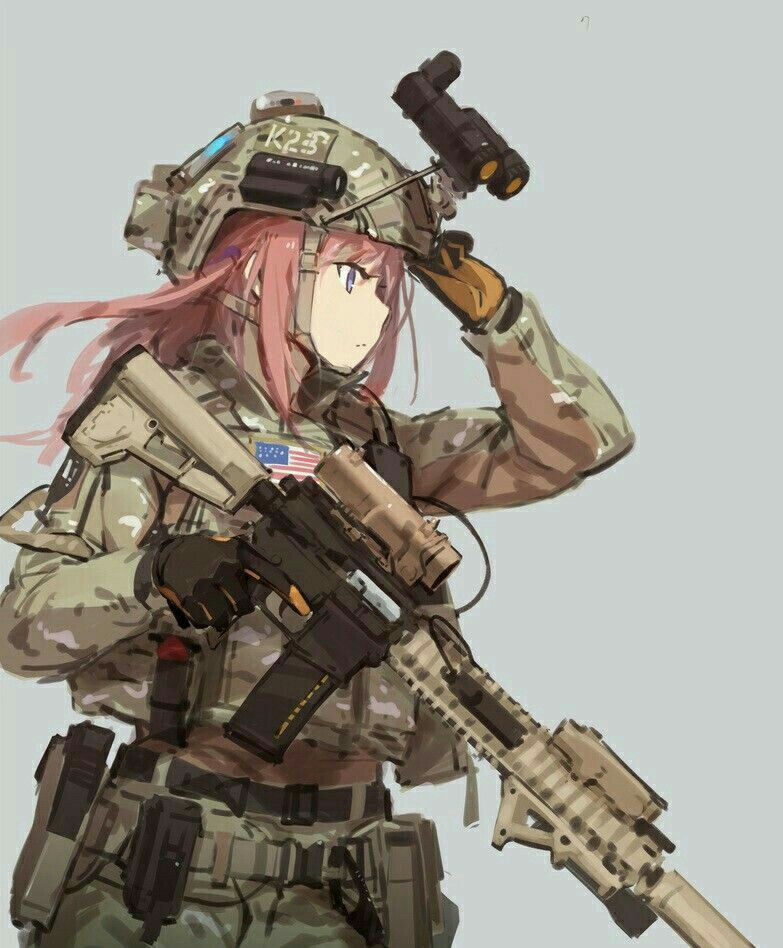 Anime Warrior, Anime Art