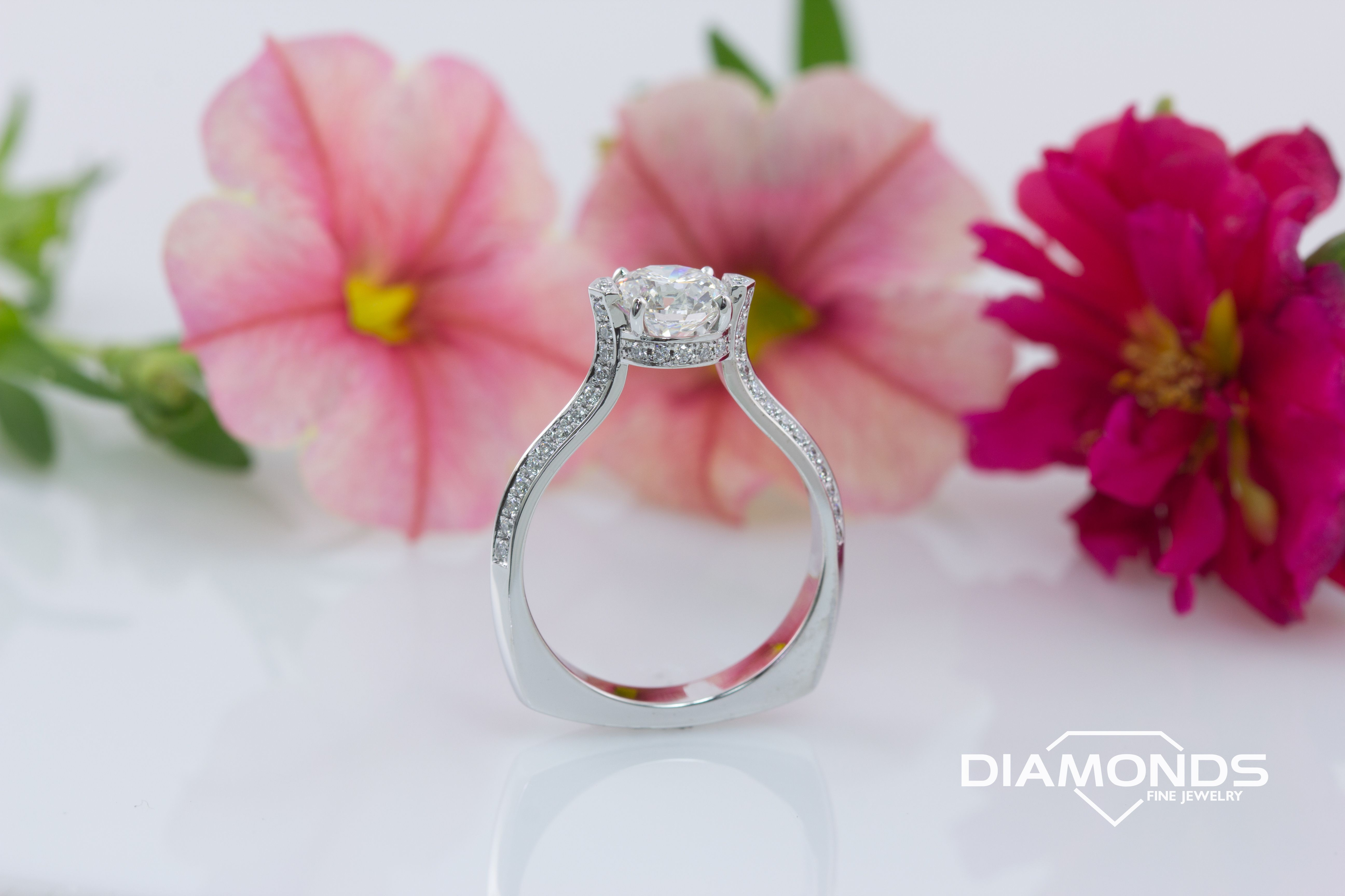 Pin by Diamonds Fine Jewelry on UNIQUE ENGAGEMENT RINGS | Pinterest