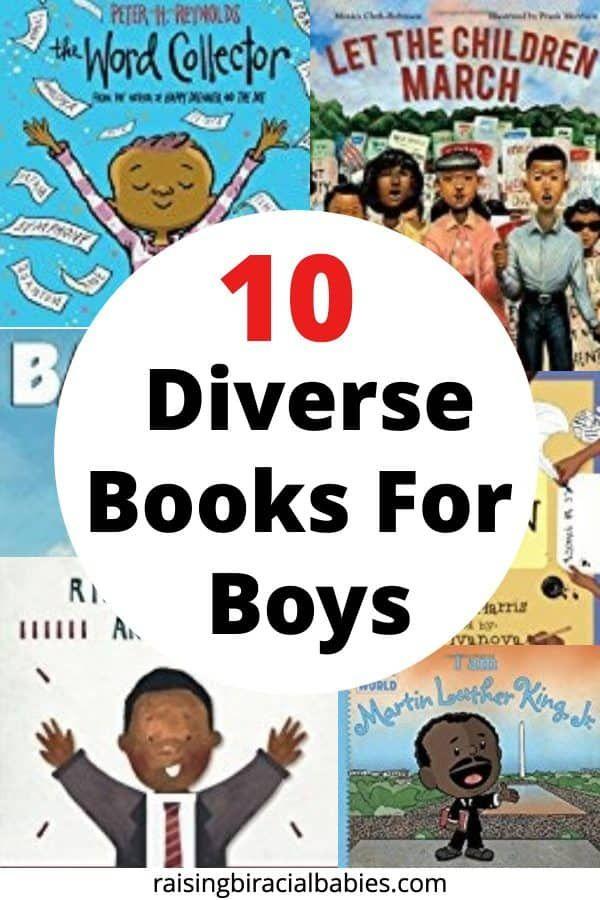 diverse books for confident boys | children's books | diverse books for kids | books for boys |