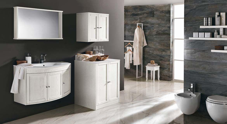 Armadietti Da Bagno Italia : White classic bagni da sogno arredamento bagno bagno e