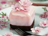 Cherry Blossom petit four