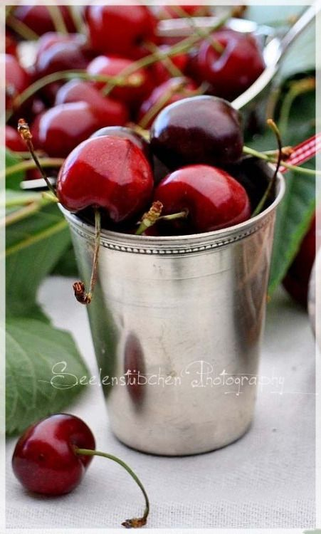 Never Let Go Of Your Dreams Sweet Cherries Delicious Fruit Beautiful Fruits