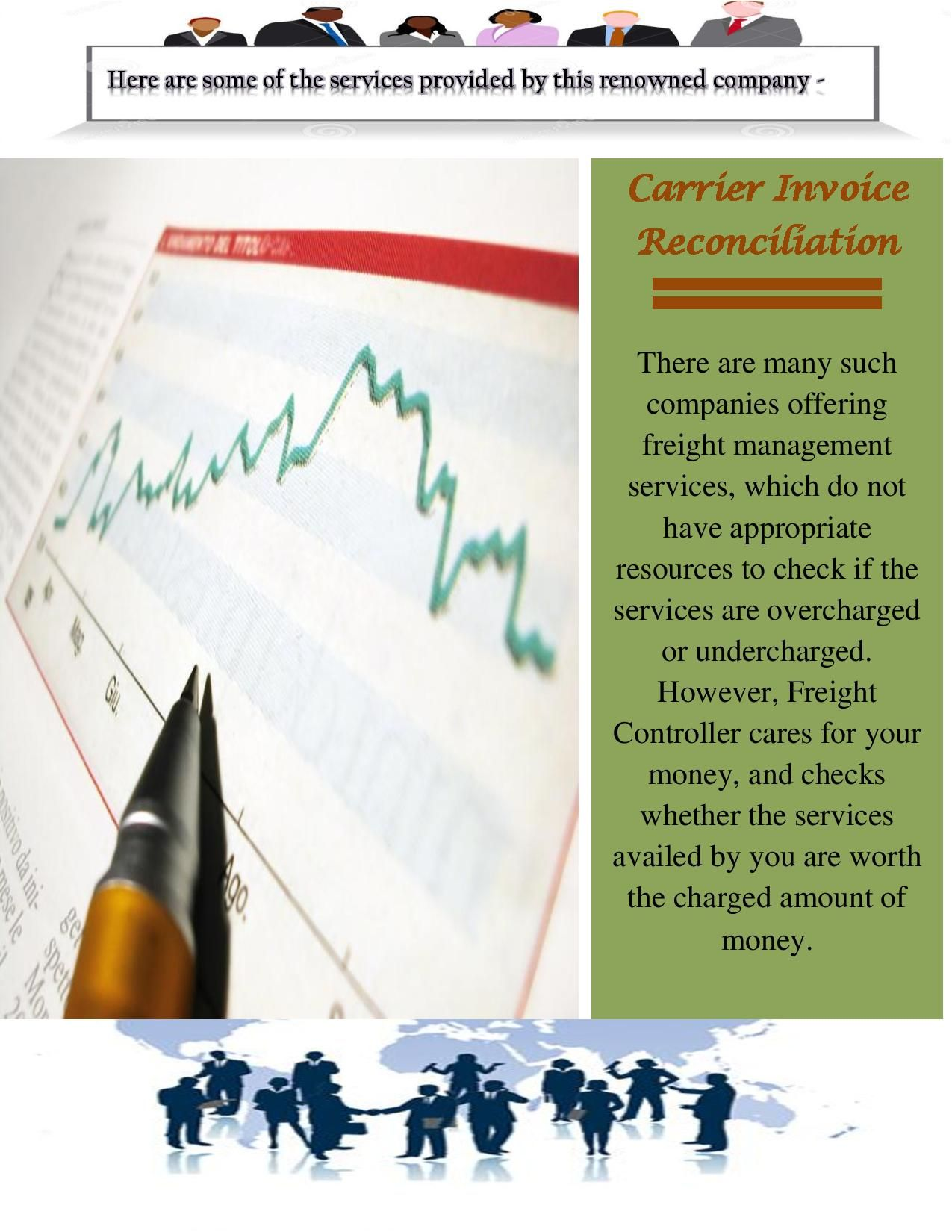 Here are some of the services provided by this renowned company