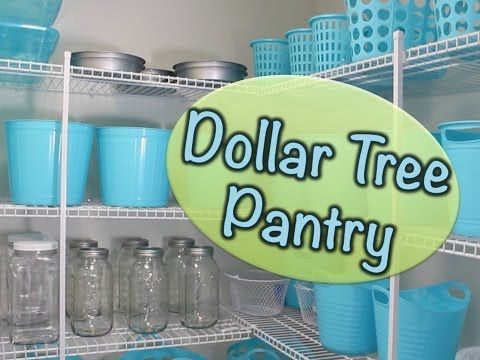Best Storage Solutions - From the Dollar Store #pantryorganizationideas