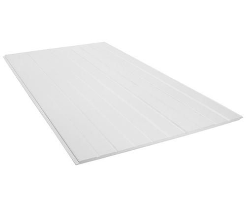 Jain 1 2 X 4 X 8 White Beaded Pvc Panel With Tongue And Groove Edges Br Actual Size 47 1 2 X 8 Wall Trim Pvc Panels Paneling