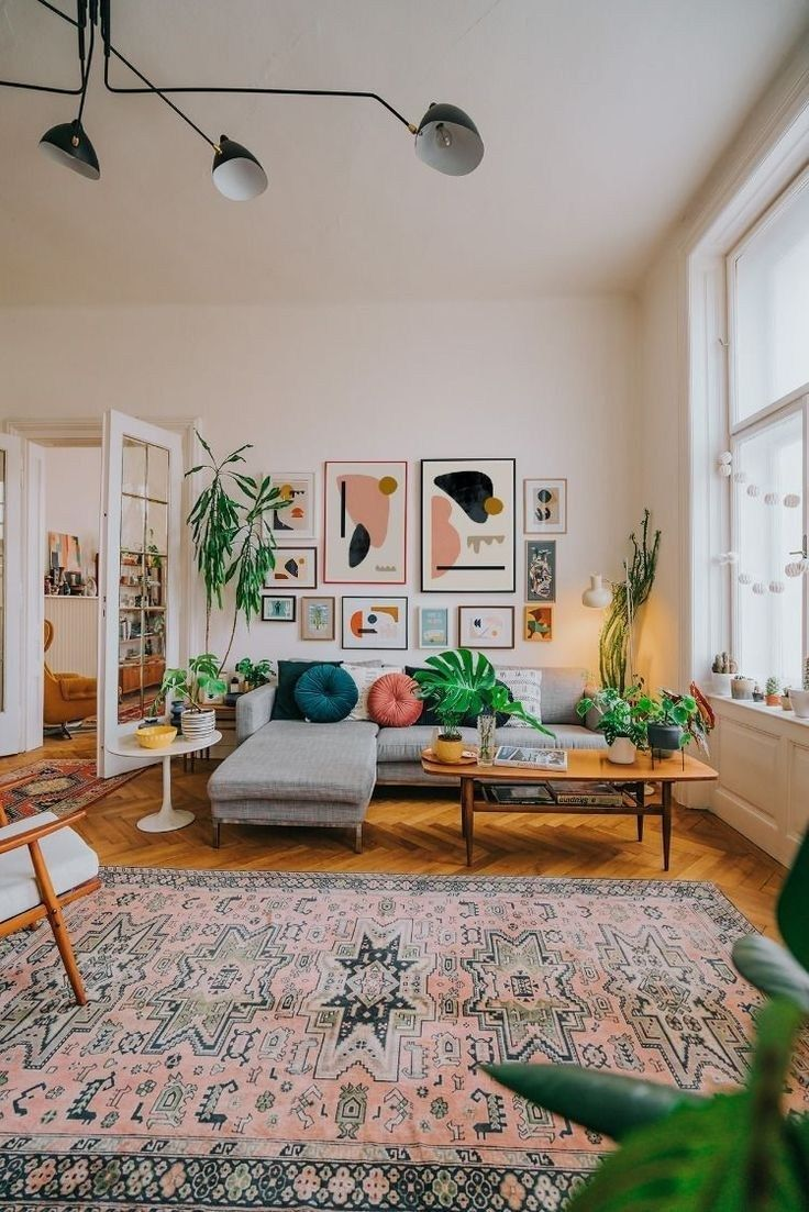 38 colorful eclectic living room 26 images