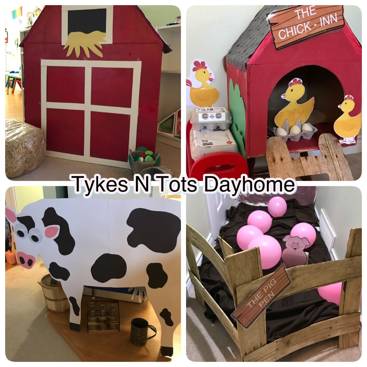 Farm Theme From Tykes N Tots Dayhome