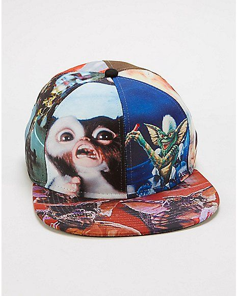 38fc62fcb39 Gremlins Sublimated Snapback Hat - Spencer s