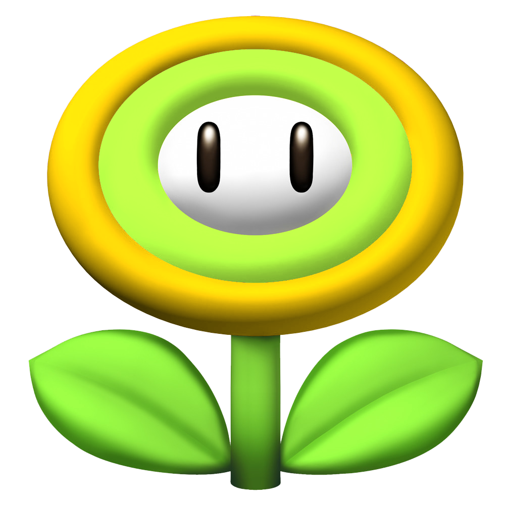 Super mario fire flower coloring pages - New Super Mario Bros Omega List Of Items