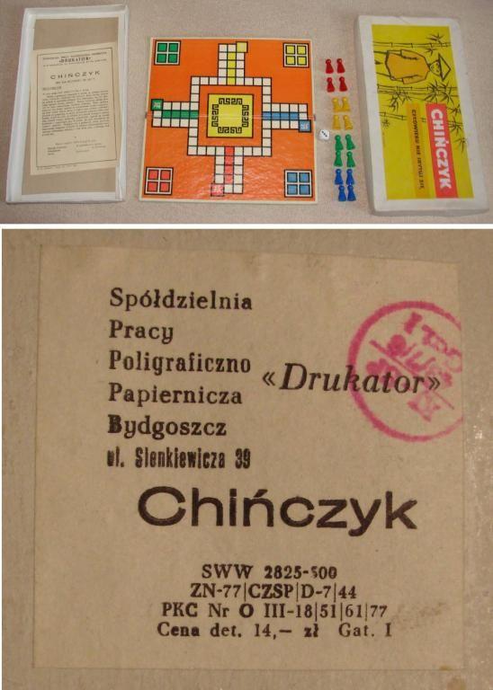 Unikat Jedyny Oryginalny Kompletny Chinczyk Prl 5147782541 Oficjalne Archiwum Allegro Nostalgia Poland Country Childhood