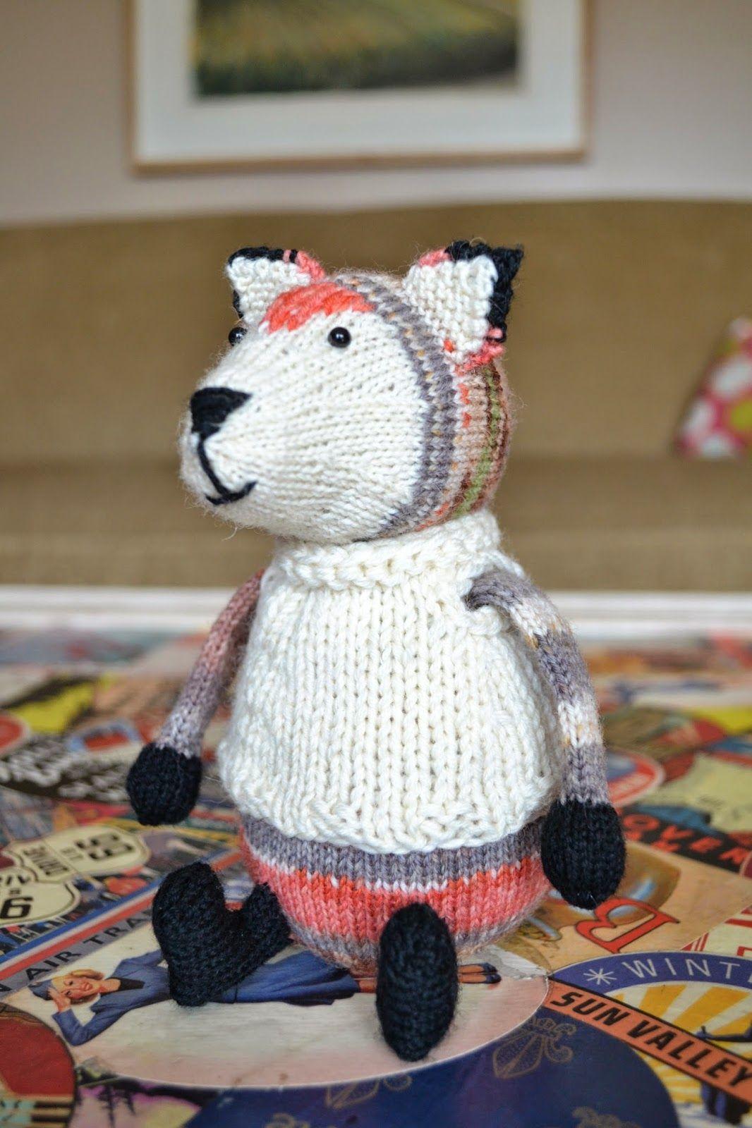 Susan B. Anderson: patterns fox knitted stuffed animal | Yarn-y ...