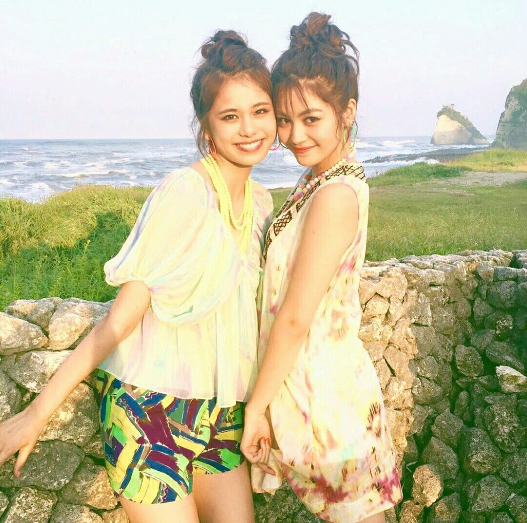 E Girls Flower Happiness 佐藤晴美 楓 Sato Harumi Kaede 佐藤晴美