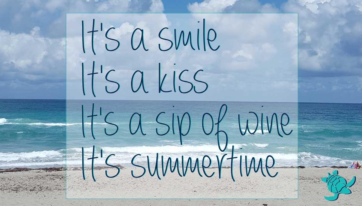 Elegant Kenny Chesney Summertime Quote