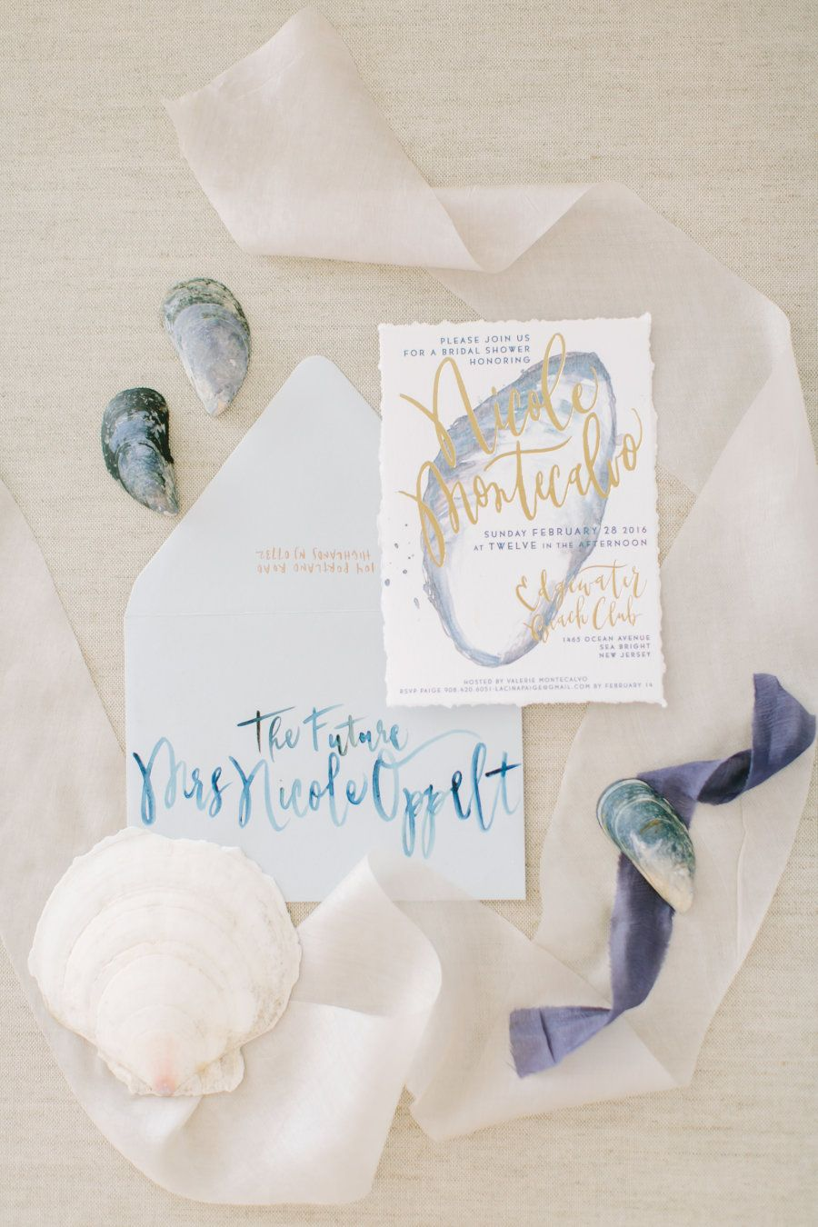 Planning a Summer Bridal Shower? This Sea-Inspired Soiree is a Must ...