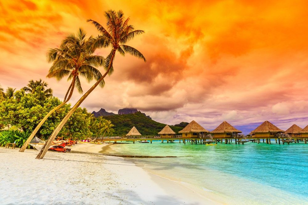 Image result for facts about bora bora islands