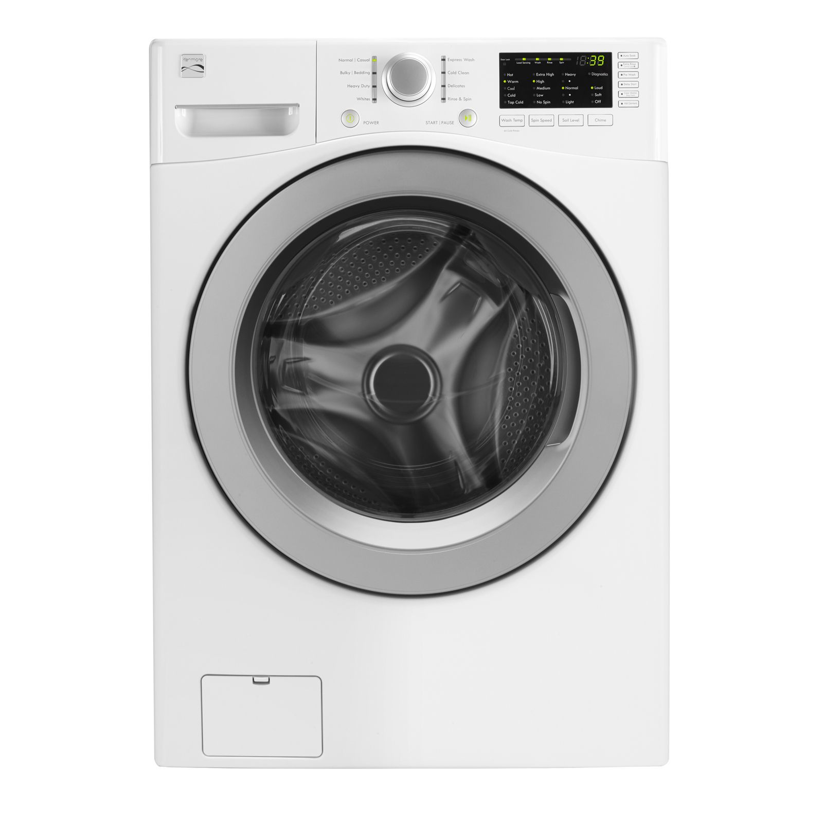 Kenmore 4 5 cu ft Front Load Washer Laundry Done the Right