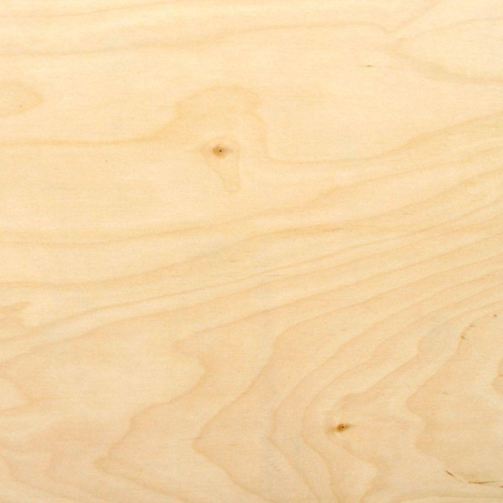1 5 In X 4 Ft X 8 Ft Hardwood Plywood Underlayment Specialty Panel 431178 Ship Lap Walls Hardwood Plywood Home Depot