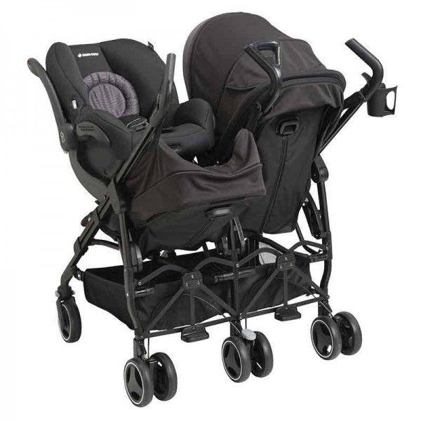 fd07e4925 Carriola DANA FOR 2 MAXI-COSI Travel system para 2 recién nacido arriola doble  para