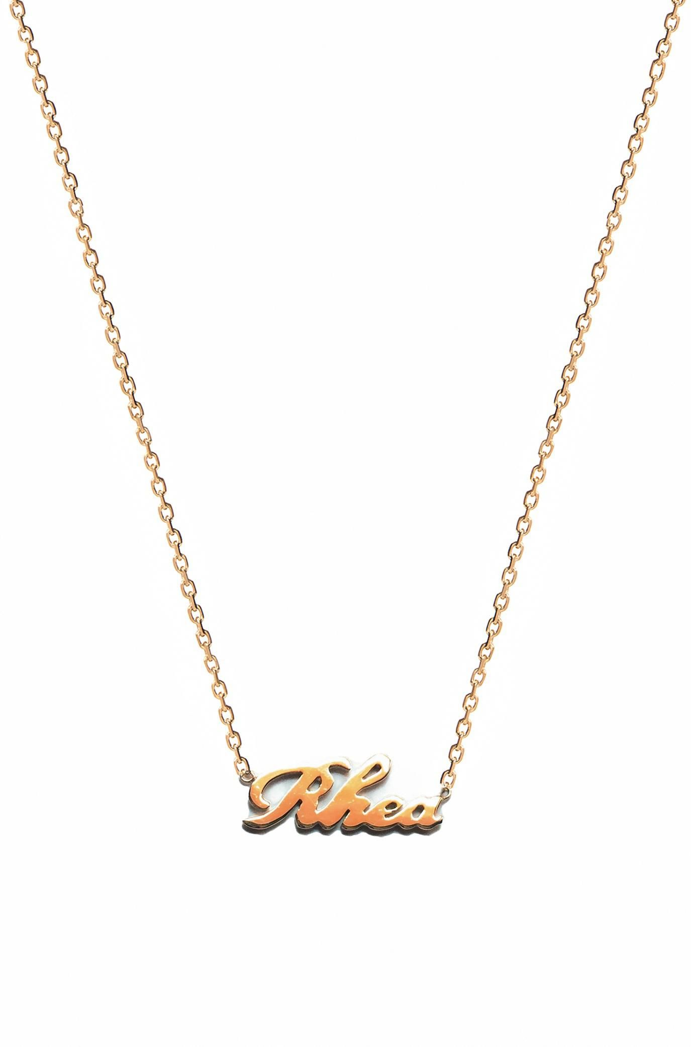 2595ffccfd6de Zoe Lev Jewelry 14K Solid Gold Name Necklace - Yellow #Lifehacks ...