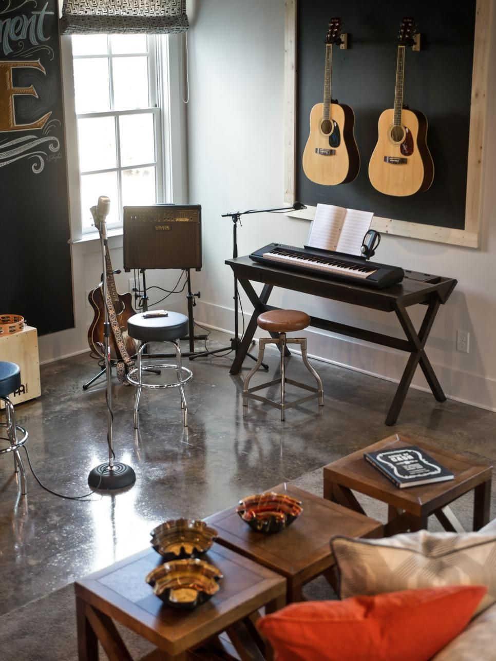 Music Studio Room Design: Stage Pictures From HGTV Smart Home 2014