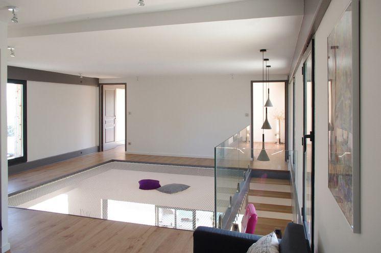 Mezzanine avec filet dingue hammock flooring