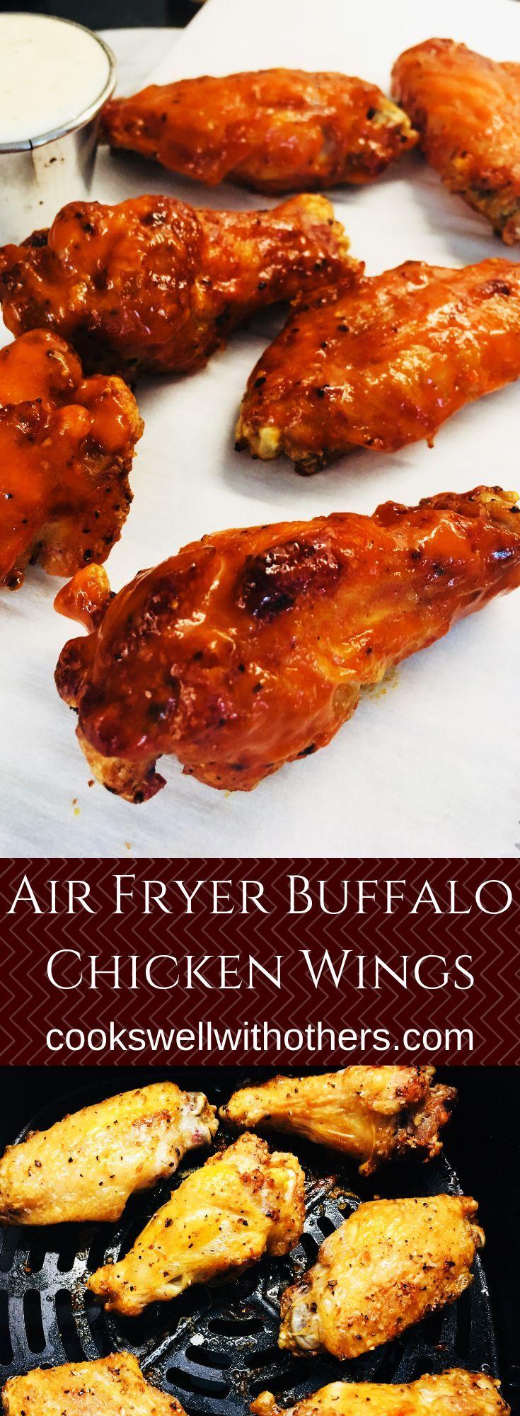 Air Fryer Buffalo Chicken Wings #airfryerrecipes