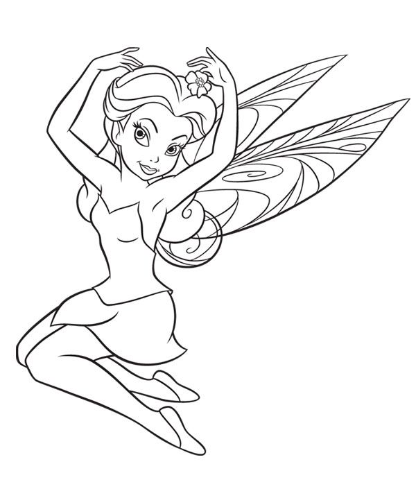 Fairy Coloring Pages disney fairies colouring pages print and