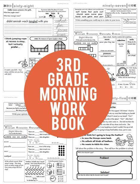 3rd Grade Common Core Aligned Morning Work