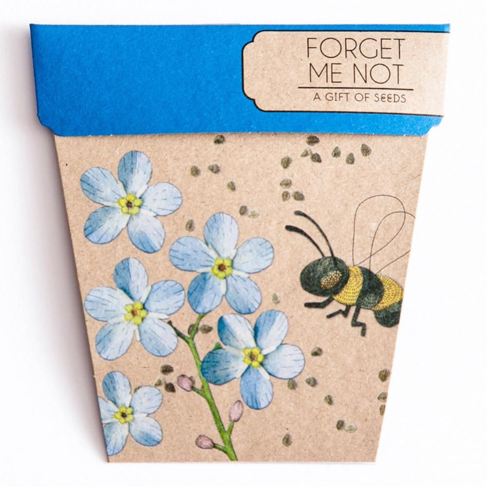 Gift card of seeds seeds gifts flower