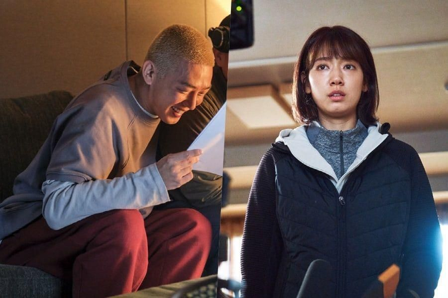 """Park Shin Hye And Yoo Ah In Are Full Of Passion And Zeal While Filming """"#ALIVE"""""""