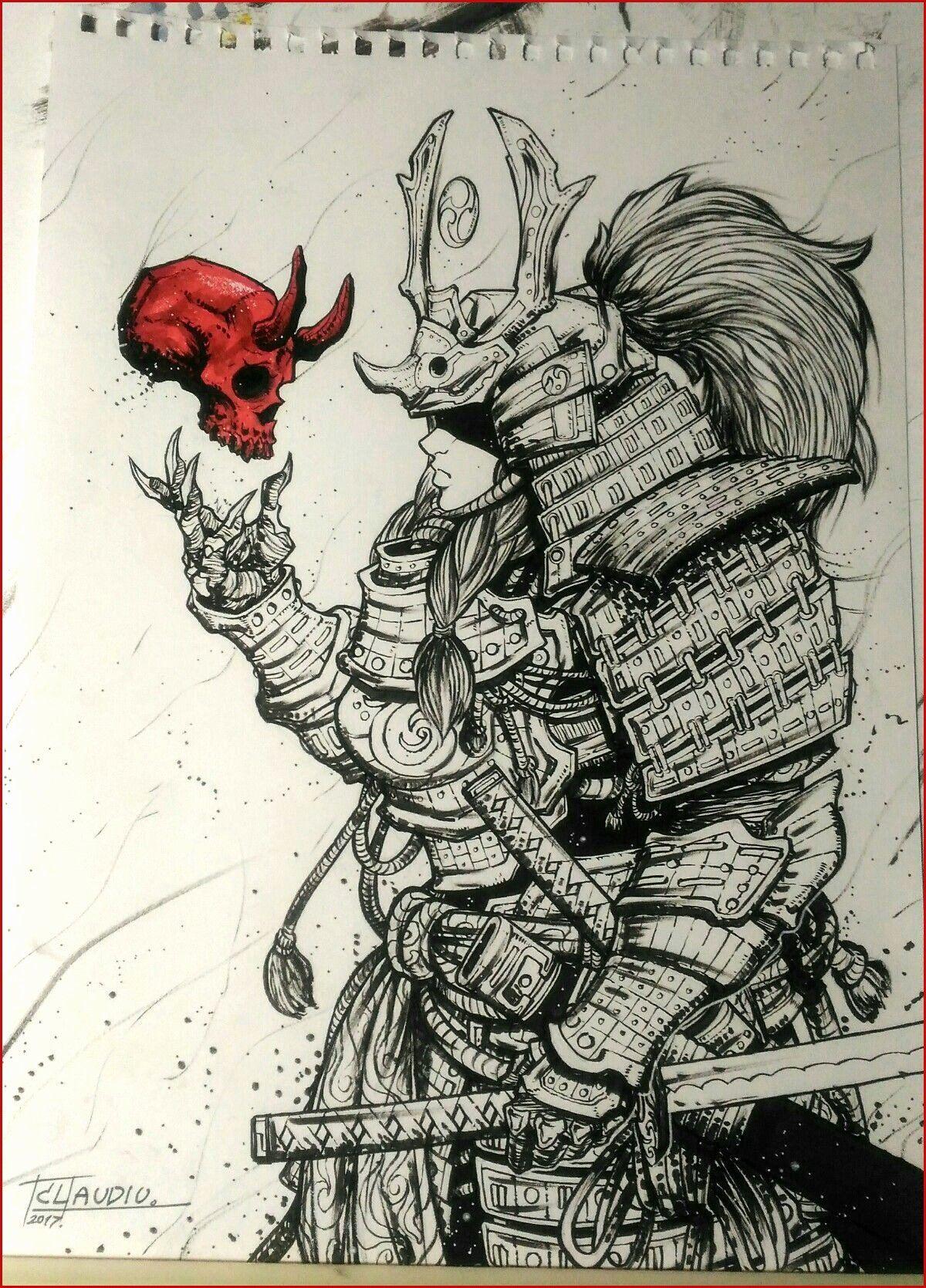Pin By Randy Sulzer On 캐릭터 디자인 Samurai Drawing Samurai Tattoo Design Samurai Artwork