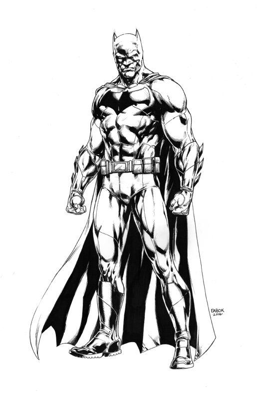 Batman V Superman Batman By Jason Fabok Comic Art Comic Book