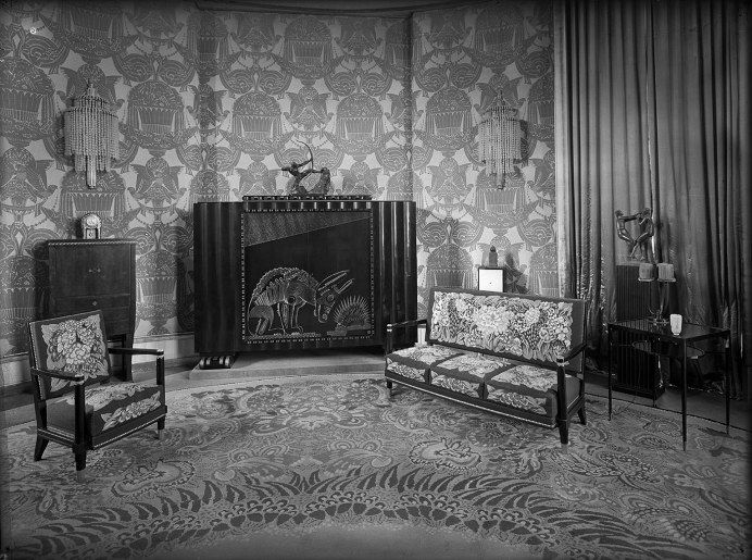 grand salon 1925 l 39 h tel du collectionneur pavillon ruhlmann s rie exposition. Black Bedroom Furniture Sets. Home Design Ideas