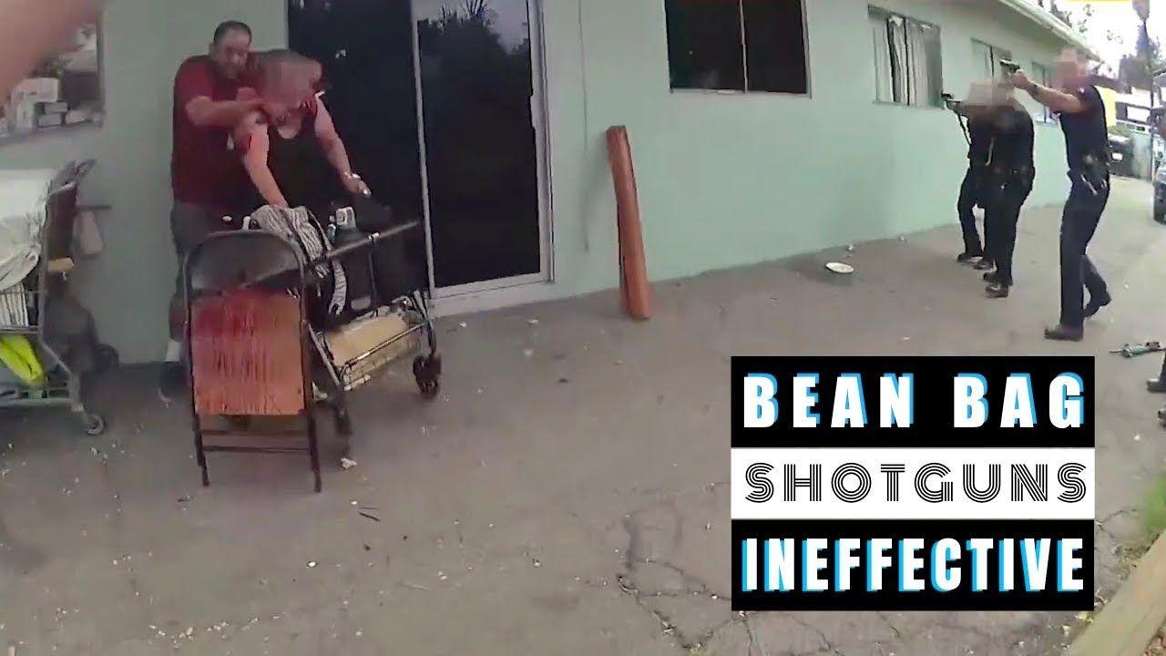 Police Shooting 8 Bean Bag Shotguns READ DESCRIPTION