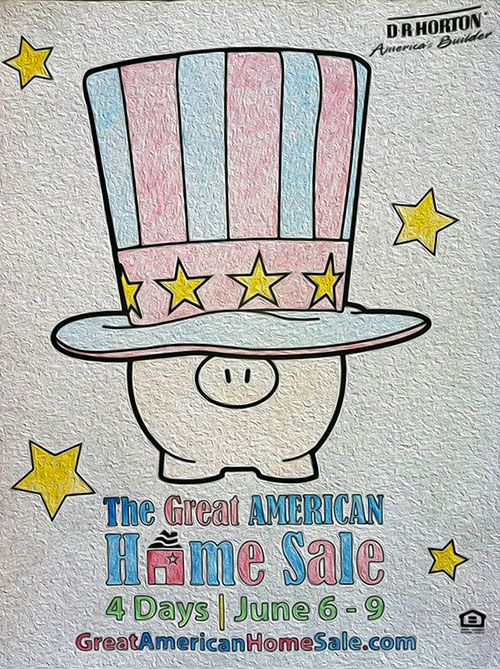 Great American Home Sale in Houston starts June 6th until