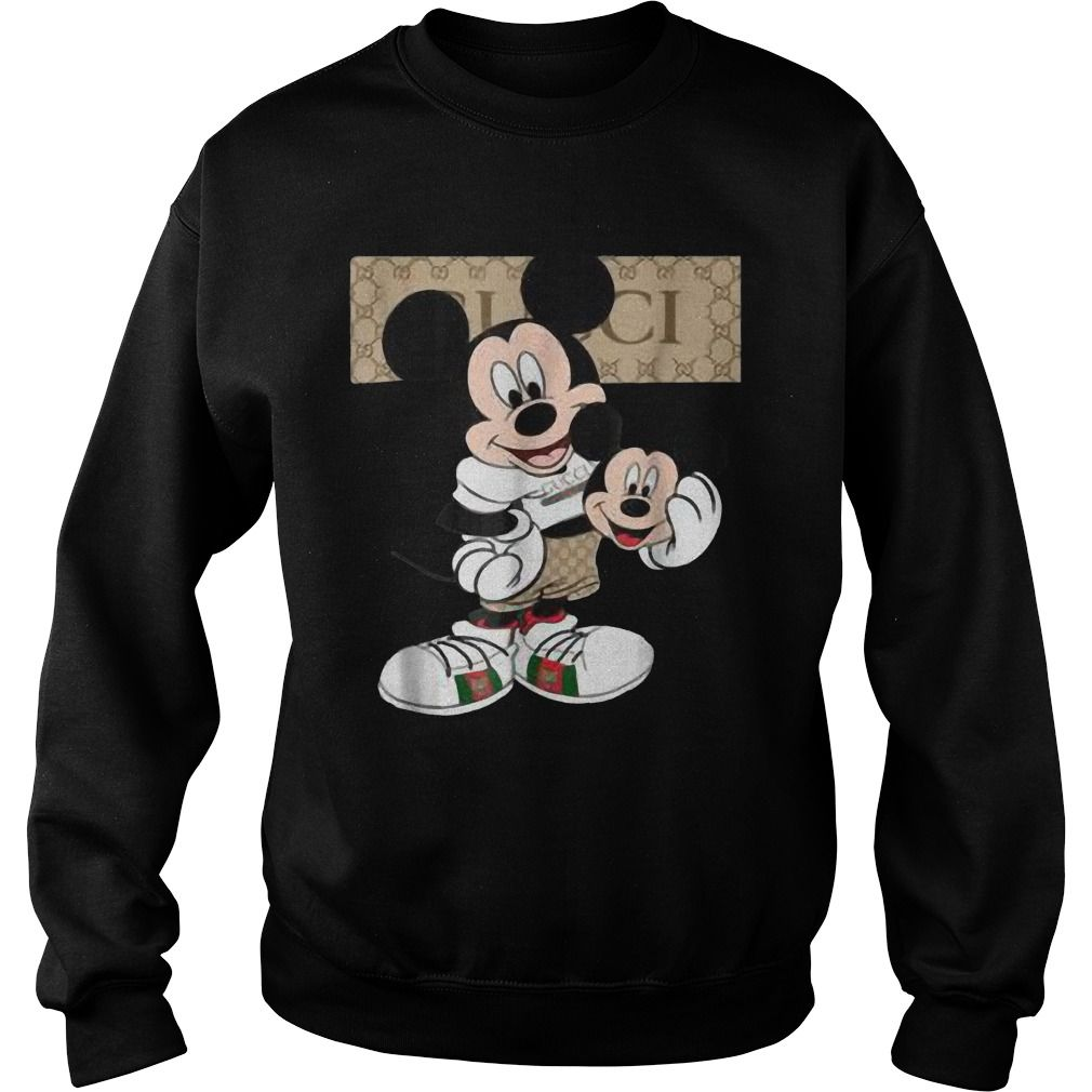 abeec72b330 If You Like Gucci With Mickey Mouse Shirt