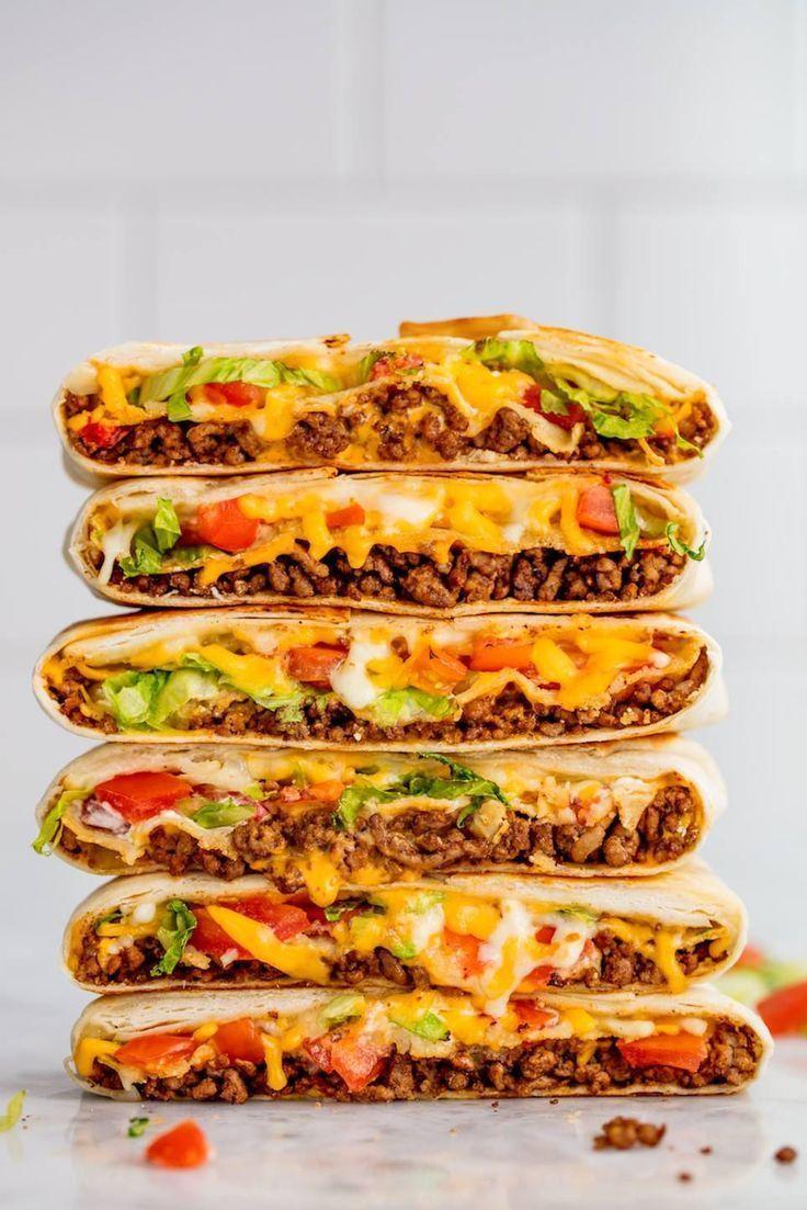 Homemade Crunchwrap SupremeDelish #again #boring #cheap #Cook #dinner #easy