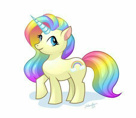 Unicornio Arco Iris Con Imagenes Dibujos De Unicornios Arte