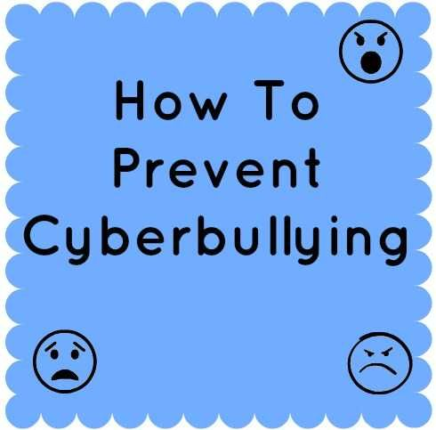 how to prevent cyberbullying stop bullying pinterest parenting