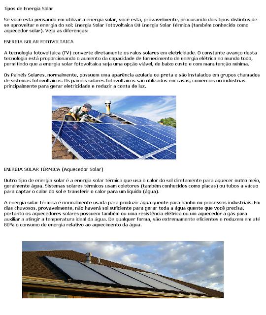 Solarmix Tipos De Energia Solar Energia Solar Energia Solar Termica Aquecedor Solar